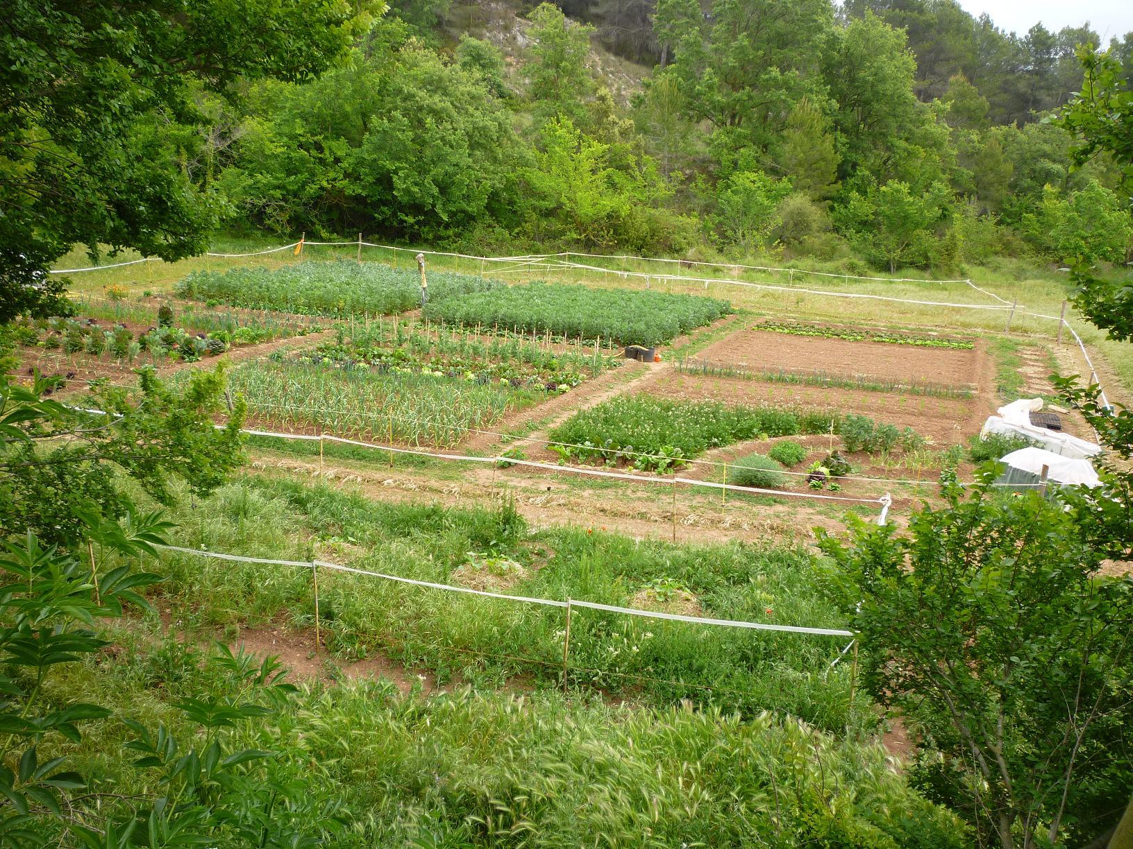 Qu te ofrecemos huerta jard n del boticario - Diseno de jardines para casas de campo ...